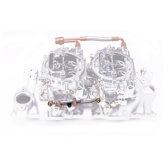Edelbrock 7094 Dual Quad Chevy & Ford Intake Manifold