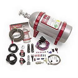 Edelbrock 71008 Performer EFI Wet System Nitrous Oxide System, L4 V6