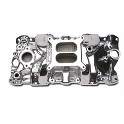 Edelbrock 71011 Performer RPM Intake Manifold, Small Block Chevy