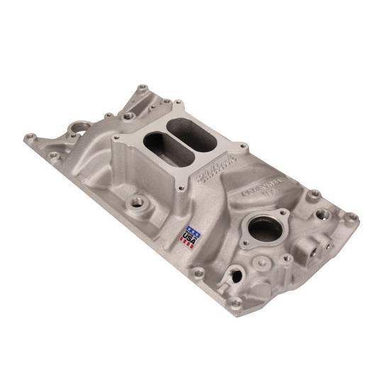 V8 Intake Manifold : Edelbrock performer rpm vortec intake manifold s b