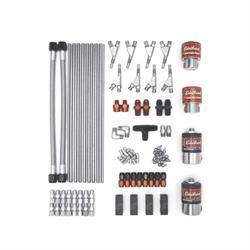Edelbrock 71853 Custom Plumb Kit Nitrous Oxide System, 100-650 hp