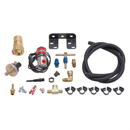 Edelbrock 71884 Wet To Dry Conversion Kit Nitrous Oxide System
