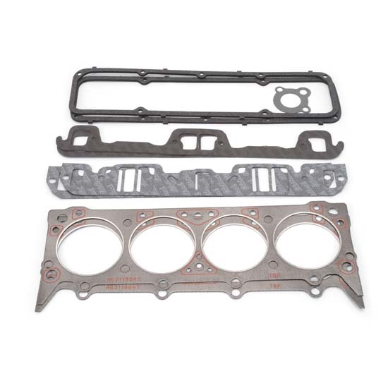 Edelbrock 7372 Cylinder Head Gasket Set, AMC 290,304,360,390,401