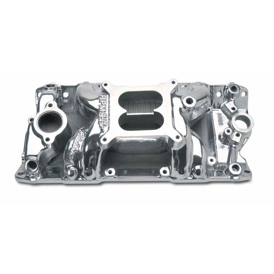 Edelbrock 75011 RPM Air Gap Intake Manifold, Small Block Chevy