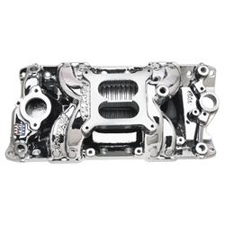 Edelbrock 75014 RPM Air-Gap S/B Chevy Intake Manifold, Endurashine