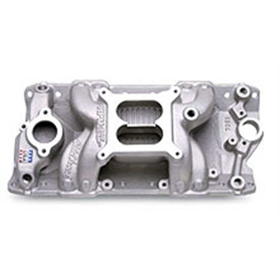 Edelbrock 7501 Performer Rpm Air Gap Small Block Chevy Intake Manifold