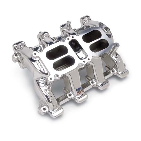 Ls1 Intake Manifold Edelbrock: Edelbrock 75184 RPM Air-Gap Dual-Quad Intake Manifold, LS1