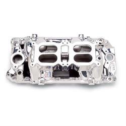 Edelbrock 75204 RPM Air Gap  Dual-Quad Intake Manifold, BB Chevy