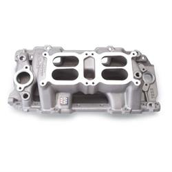 Edelbrock 7522 Performer RPM Air Gap Dual-Quad Intake Manifold, Chevy
