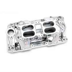 Edelbrock 75254 RPM Air Gap Dual-Quad Intake Manifold, SB Chevy