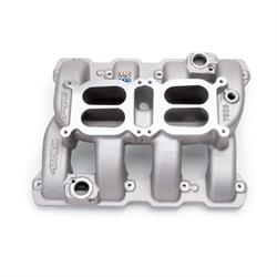 Edelbrock 7528 Performer RPM Air Gap Dual-Quad Intake Manifold, 5.7L