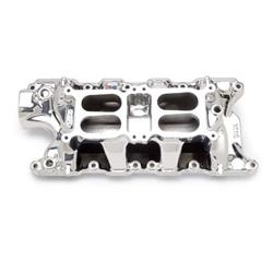 Edelbrock 75354 Performer RPM Dual-Quad Air-Gap Intake Manifold, Ford