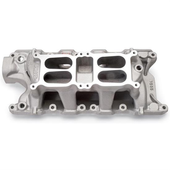 Edelbrock 7535 289-302 Small Block Ford Dual Quad Intake Manifold