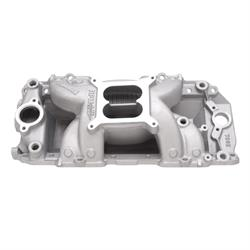 Speedway Big Block Chevy Aluminum Dual Plane Intake, Oval Port