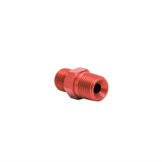 Edelbrock 76521 Flare Jet Hose Fitting, Male -3 AN to Male 1/8 In. NPT