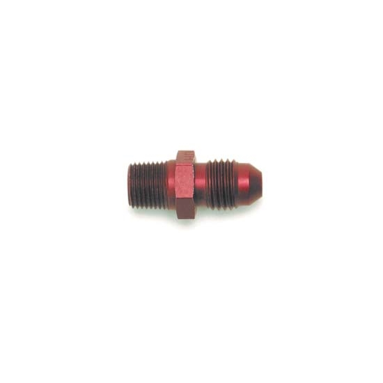 Edelbrock 76531 Flare To Pipe Hose Fitting,-4 AN to Male 1/8 Inch NPT