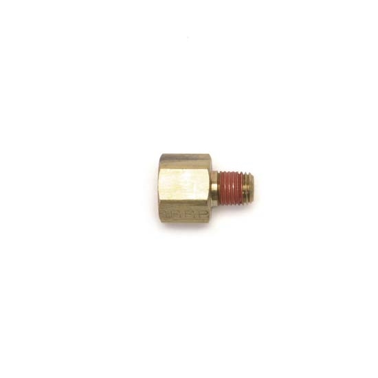 Edelbrock 76555 Pipe Reducer Hose Fitting, Brass