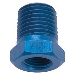Edelbrock 76567 Pipe Bushing Reducer Hose Fitting, Aluminum