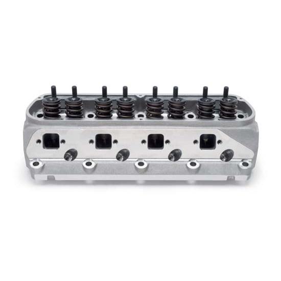 Ford 5 4 Cylinder Head Plug: Edelbrock 77189 Victor Jr Cylinder Head,Assembled, Ford
