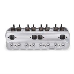 Edelbrock 77599 Victor Jr. Cylinder Head, 64 cc,Chevy 302,327,350,400