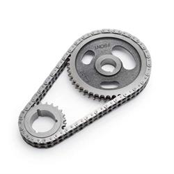 Edelbrock 7803 Performer-Link True Roller Timing Set Chain, SB V6