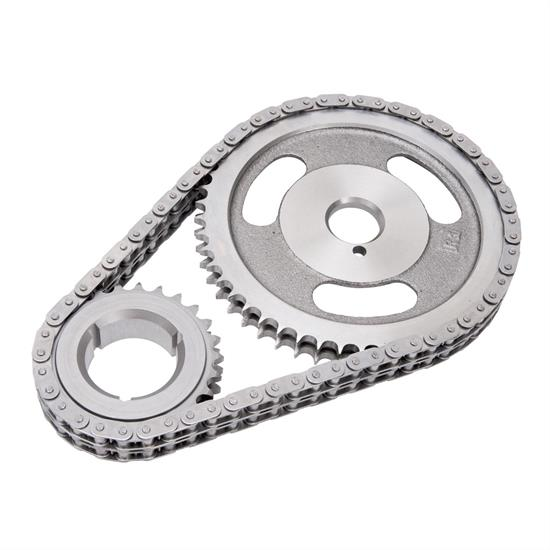 Edelbrock 7804 Performer-Link True Roller Timing Set Chain, BB Mopar