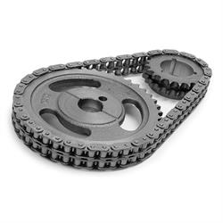 Edelbrock 7820 Performer-Link True-Roller Timing Chain Set, SB Ford