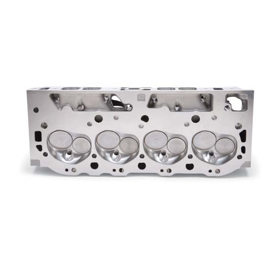 Edelbrock 79555 E-CNC 355 Cylinder Head, Rectangular Port, BB Chevy