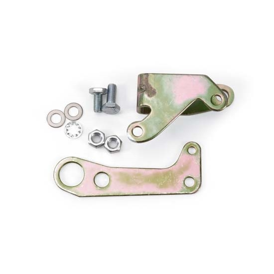 Edelbrock 8021 Carburetor Throttle Lever, Holley Double Pumper, Kit