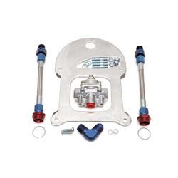 Edelbrock 8192 Carburetor Fuel Pressure Regulator, 4.5 to 9 psi