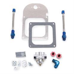 Edelbrock 8193 Carburetor Fuel Pressure Regulator, 4.5 to 9 psi