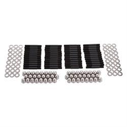 Edelbrock 8505 Cylinder Head Bolt Kit, 8740 Chromoly, Black Oxide