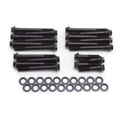 Edelbrock 8549 Cylinder Head Bolt Set, Chromoly, Pontiac