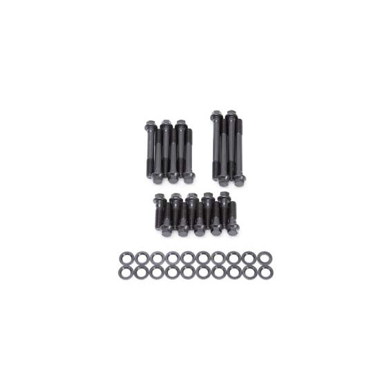 Cylinder Head Bolts Set: Edelbrock 8555 Cylinder Head Bolt Set, Mopar 318,340,360