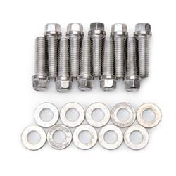 Edelbrock 8559 Intake Manifold Bolt Set, Steel, Pontiac V8