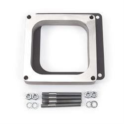 Edelbrock 8717 4- Barrel Carburetor Spacer, Aluminum, 1 Inch