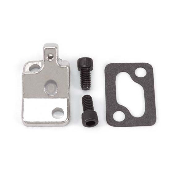 Edelbrock 8901 Performer Series Carburetor Choke Adapter, Small Block Chevy