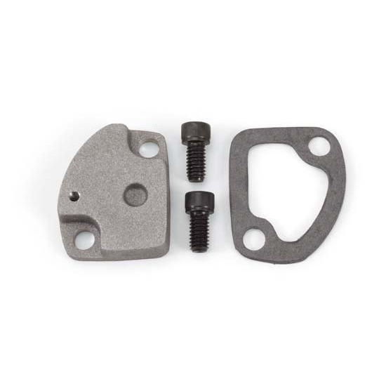 Edelbrock 8961 Performer Series Carburetor Choke Adapter, BB Chevy