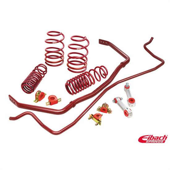 Eibach 4.5485.880 Sport-Plus Kit, Sportline Springs/Sway Bars, VW
