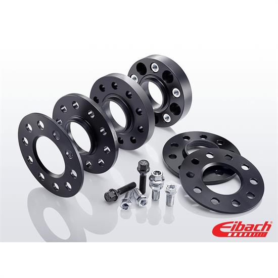 Eibach S90-4-25-063-B Pro-Spacer Kit, 25mm Pair, Black, Ford
