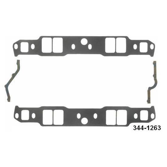 Fel-Pro P1263 Small Block Chevy Intake Manifold Gaskets-1