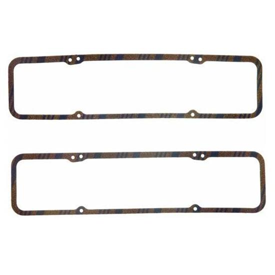 Fel-Pro 1603 Small Block Chevy Valve Cover Gaskets-Blue Stripe-7/32 In