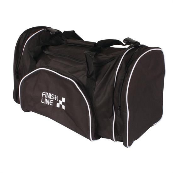 Finishline 400 Black Racing Gear Duffle Bag