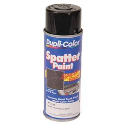 GM Trunk Spatter Paint, Aqua/Black