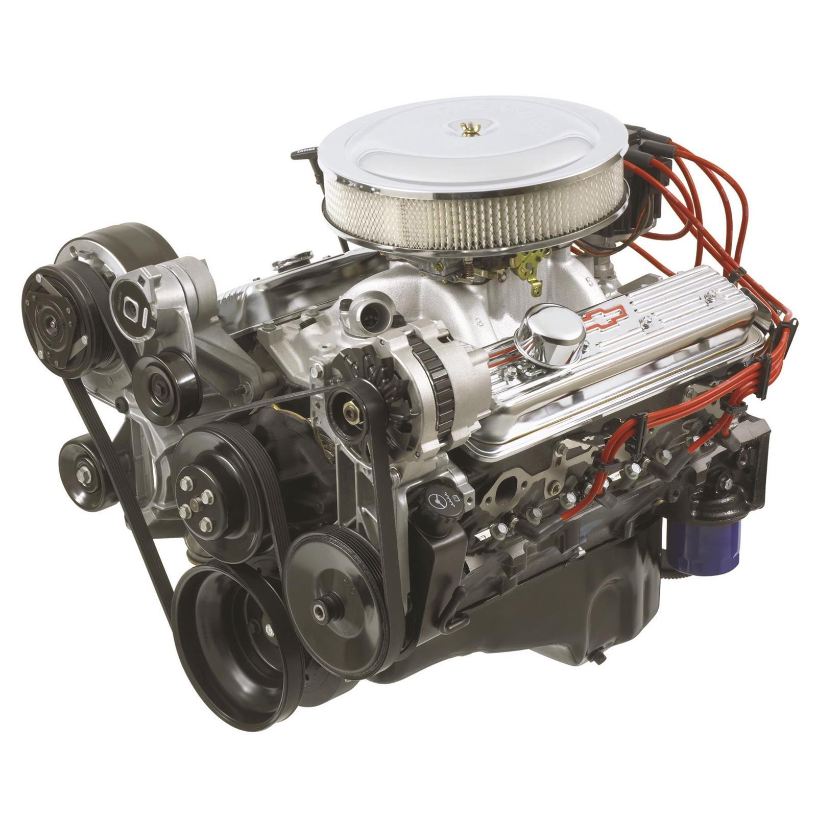 Chevrolet Performance 19210009 SBC 350 HO Turn-Key Crate Engine   Chevy 350 Motor Wiring      Speedway Motors