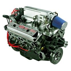 Chevrolet Performance 19355815 SBC Ram Jet 350 Crate Engine, 345 HP