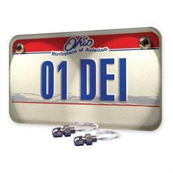 DEi 030309 LED Lite'N Boltz License Plate Lighting Kit, Dome, 4 Piece
