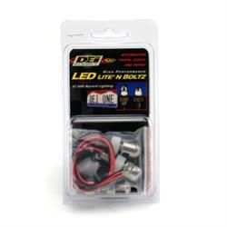 DEi 030310 LED Lite'N Boltz License Plate Lighting Kit, Dome, 2 Piece