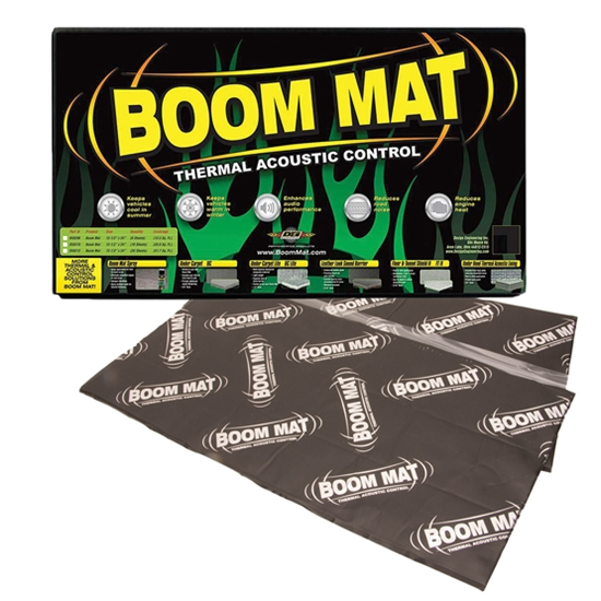 dei 050222 boom mat xl damping material 12 1 2 x 24 inch 5 sheets. Black Bedroom Furniture Sets. Home Design Ideas