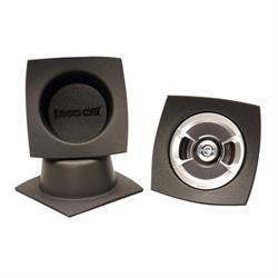 DEi 050341 Boom Mat Speaker Baffle, 6-3/4 Inch Round Slim